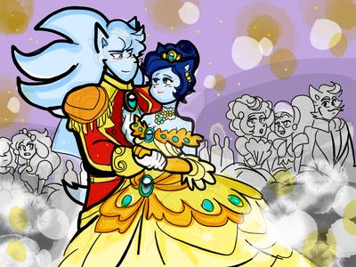 Magic dance royal  by klaudiapasqui