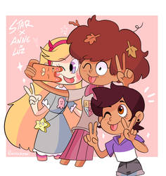 Star and luz and Anne