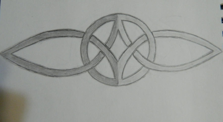 celtic symbol for eternal love by snowknightling312 on