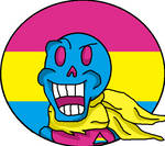 Pansexual Papyrus by fictionalpride
