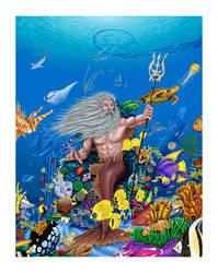 King Neptune by Crescent-Studio