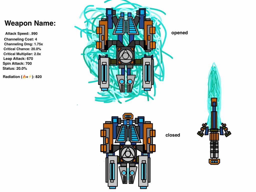 Warframe Weapon Contest  1.0 by theFallenSENTIENT18