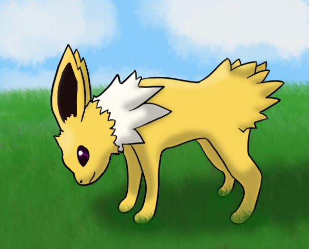 Jolteon test by wolffang7789