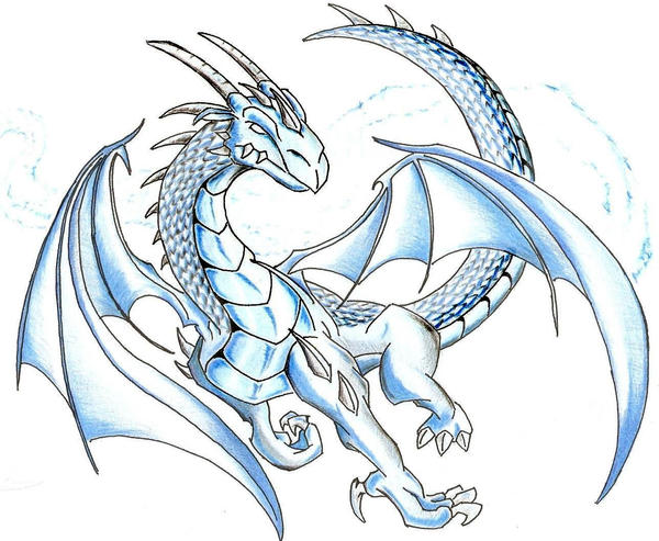 Ice Dragon by 7THeaven on DeviantArt