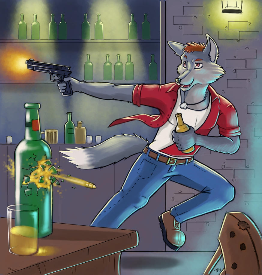 Beer And Gun Fights by 7THeaven