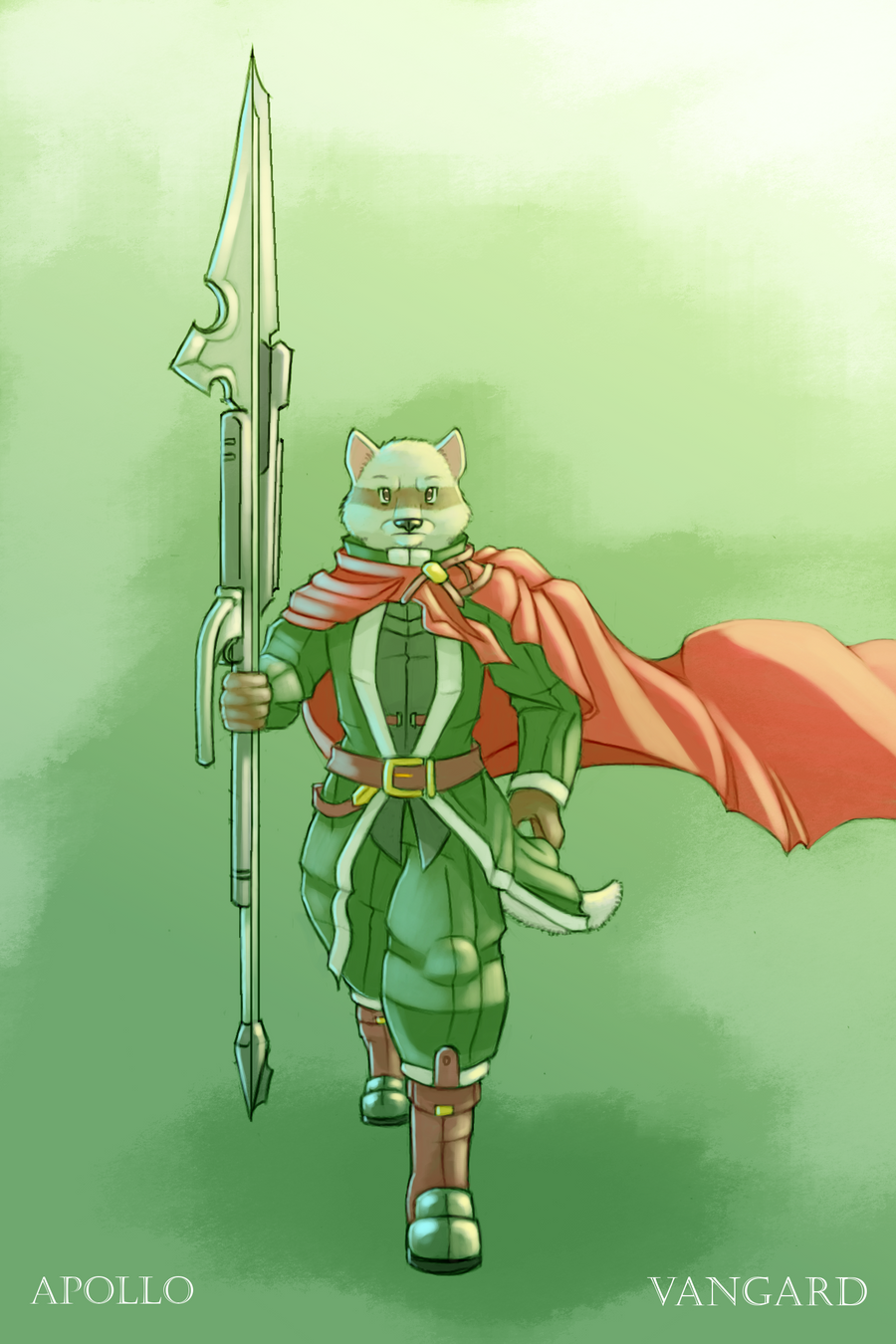Vangard - Emerald Knight by 7THeaven