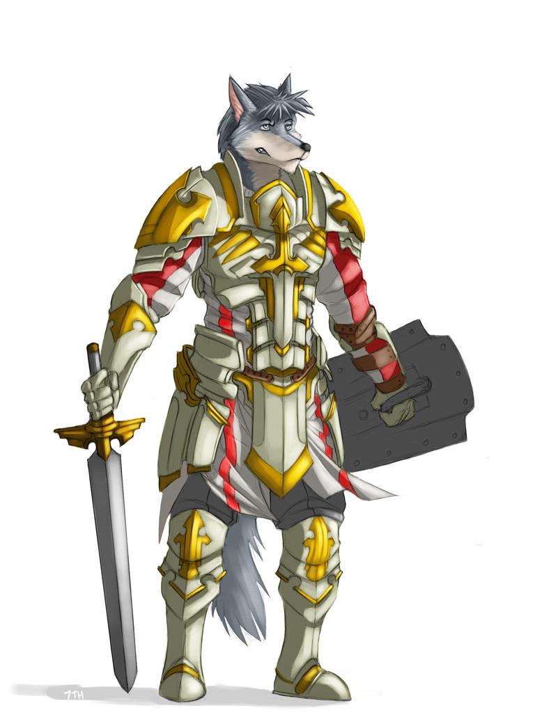 [Commission] Thauraxxrian - Paladin by 7THeaven