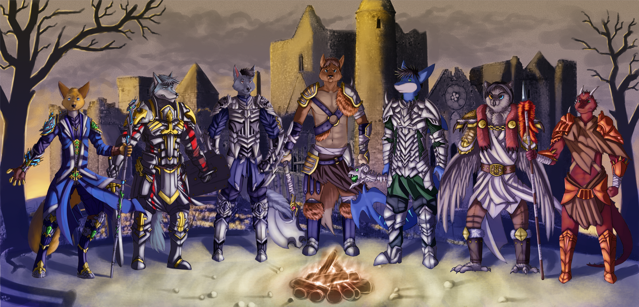 Commission Diablo 2 - Warriors of The Dawn by 7THeaven ...