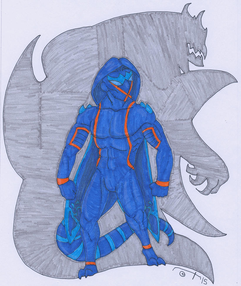 Symbiote!Kevin by NixKat