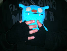 Ugly Doll Squeeze by Pendragon-007