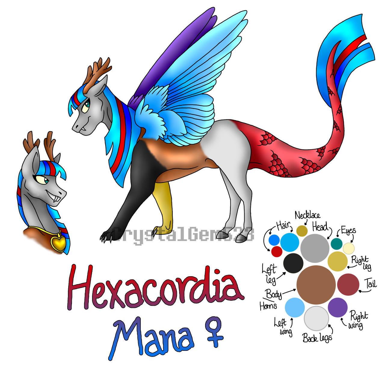[COM] Hexacordia Mana by Anthonylix09
