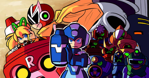 Mega Man by karzopla