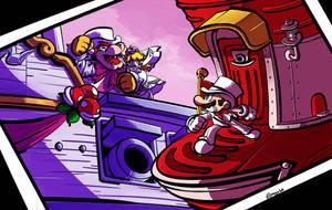 Super Mario Odyssey by karzopla