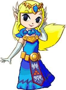 Zelda in blue by zeldatrimew