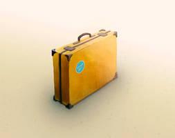 Briefcase, digital art, 2015
