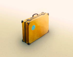 Briefcase, digital art, 2015