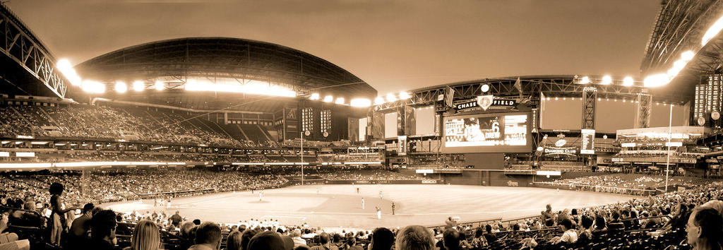 Night at the ballpark by poopylx