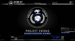 Project Erebus: Modern Warfare Rainmeter GUI