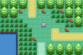 random pokemon route by Airceltrai