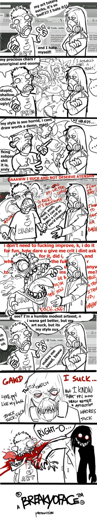 MAH ART SUCKS by TD-Vice