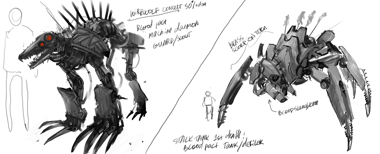 Blood Pact Tech concepts wip by TD-Vice