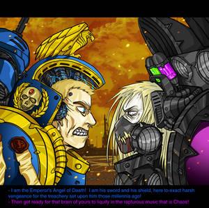 Warhammer 40k anime screenshot
