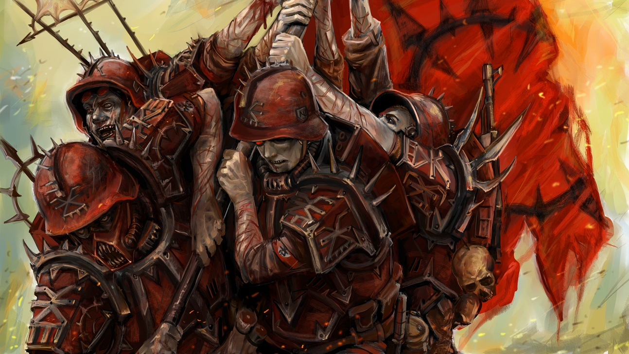 [W40K] Collections d'images diverses - Volume 2 - Page 2 Together_towards_victory_by_torture_device-d5s0ud6
