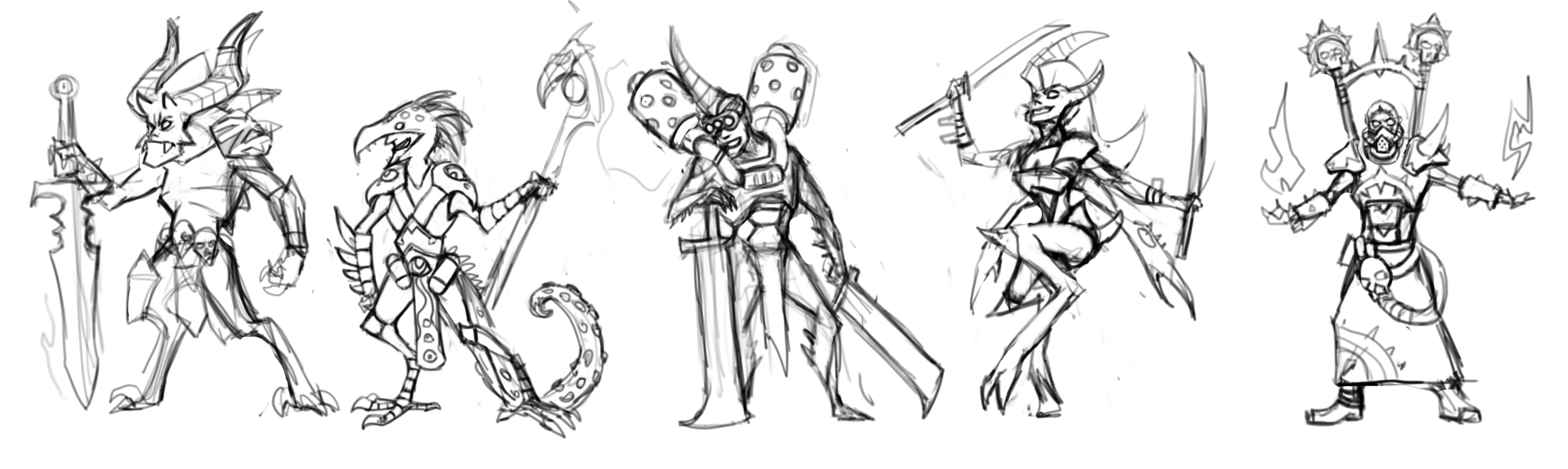 Chaos United rough concepts by TD-Vice