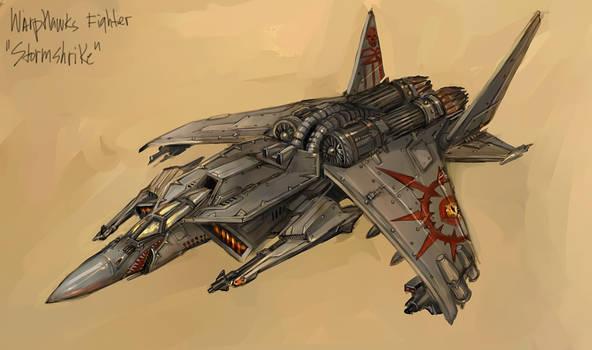 Warphawks - Stormshrike Fighter