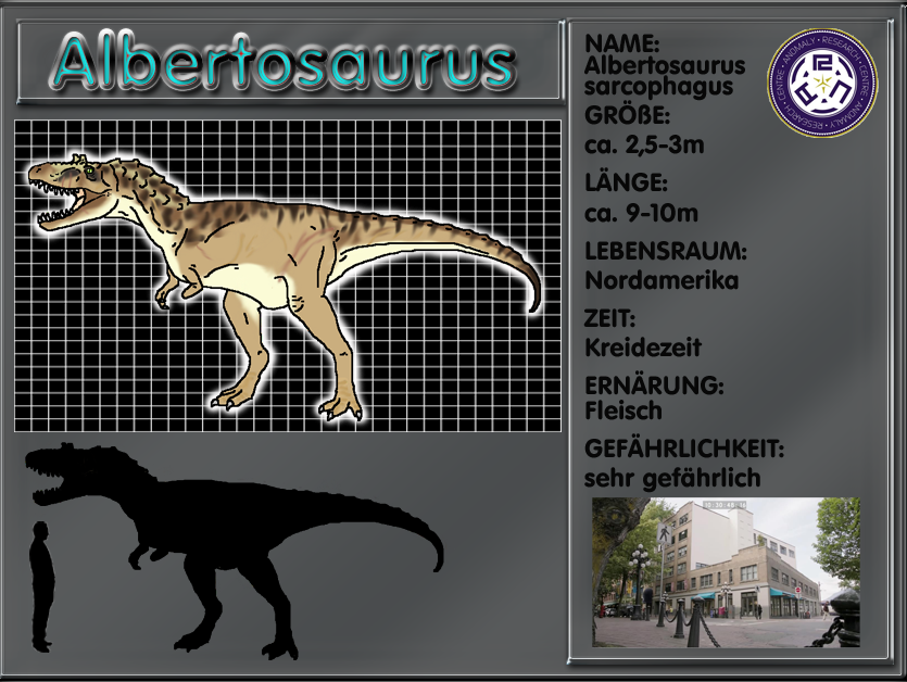 Primeval Albertosaurus by Black-Uraby