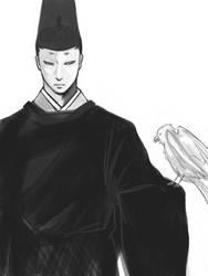 Fujiwara no Yorinaga by kaoring