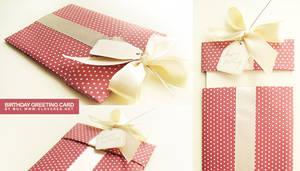 Birthday greeting card by dolosan
