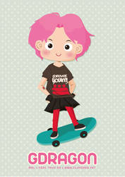 Pink hair G-Dragon