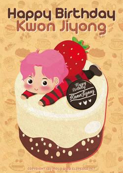 Happy Birthday Jiyong