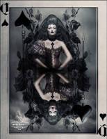 Queen of Spades by WhiteMiceAndSherbet