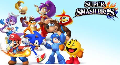 Super Smash Bros 4 Wallaper