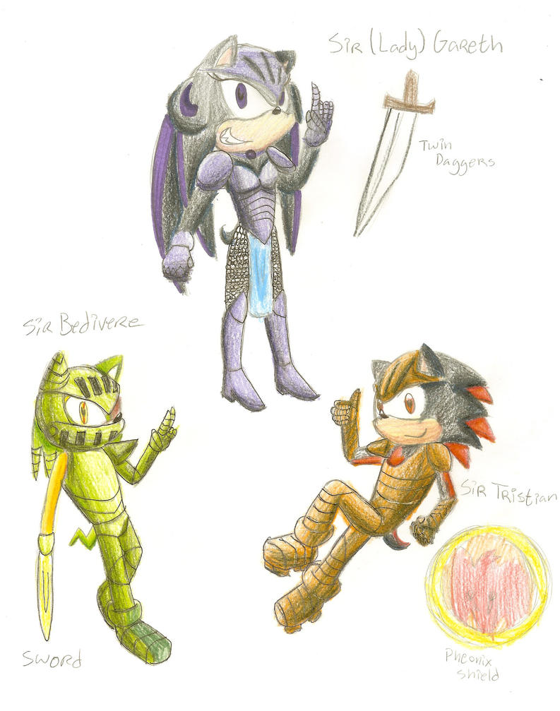 Knights Of The Round Table By Amanda The Human On DeviantArt