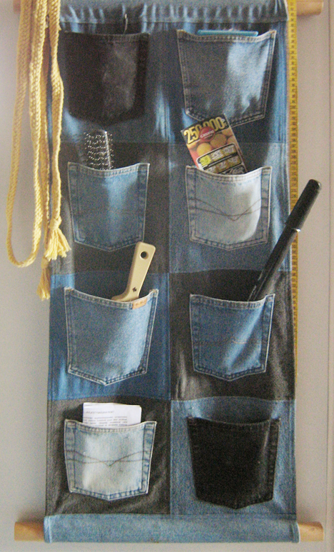 jeans wall pockets by pauletta90