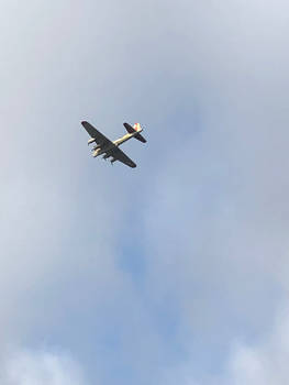 B-17 Fly Over