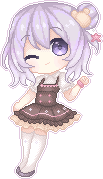 New Oc Pixel Page Doll by xuuni