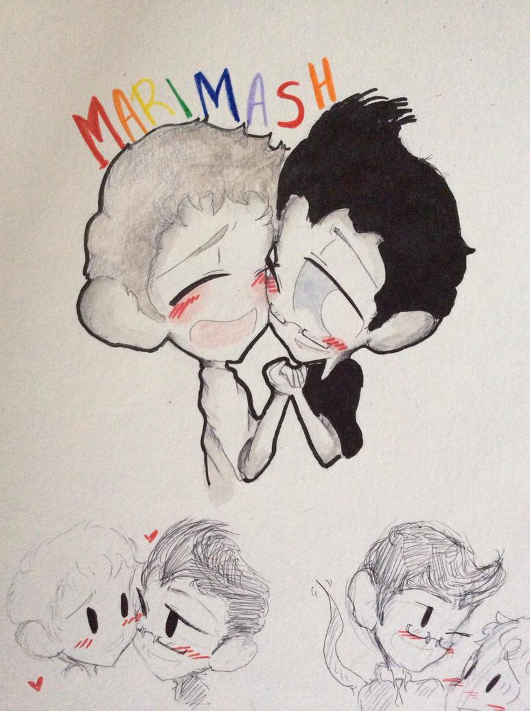 Markimash-face squish- by huey4ever on DeviantArt Markimash Fan Art