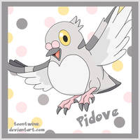 Poke Cubes -- Pidove by ToonTwins