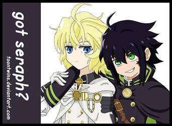 Seraph of the End Badge