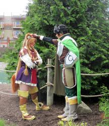 Rising of the Shield Hero - Raphtalia and Naofumi