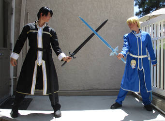 Sword Art Online Alicization - Kirito and Eugeo