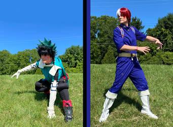 My Hero Academia - Deku and Todoroki