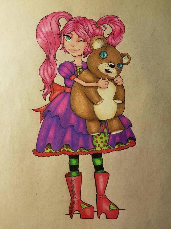 Doll by GoldNGoddess