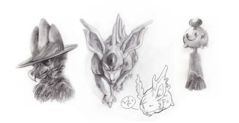 Lots of pokemon