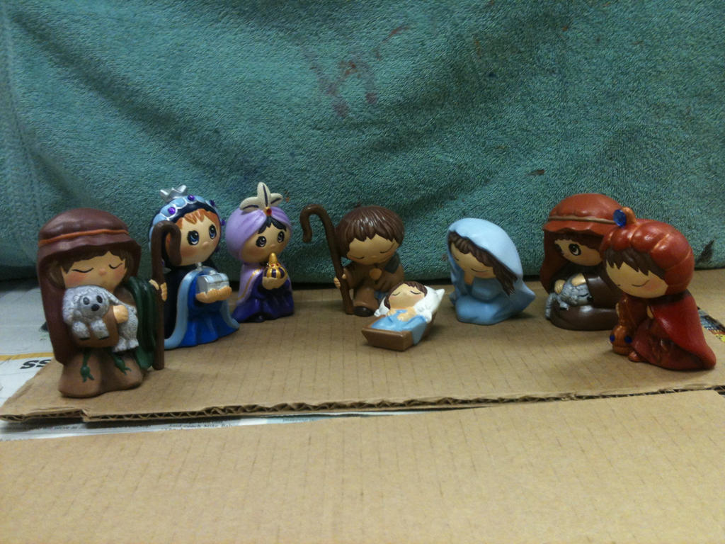 First nativity ever. by khytten