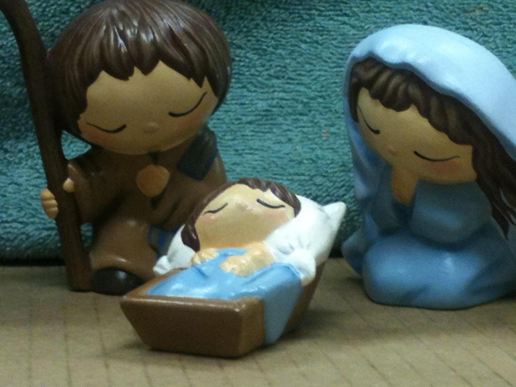 Nativity Close Up - Holy Family. by khytten